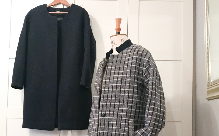 SOI Cocoon Coat (two ways)