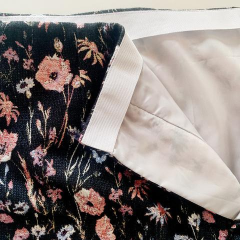 How to: Sew a Petersham waistband facing